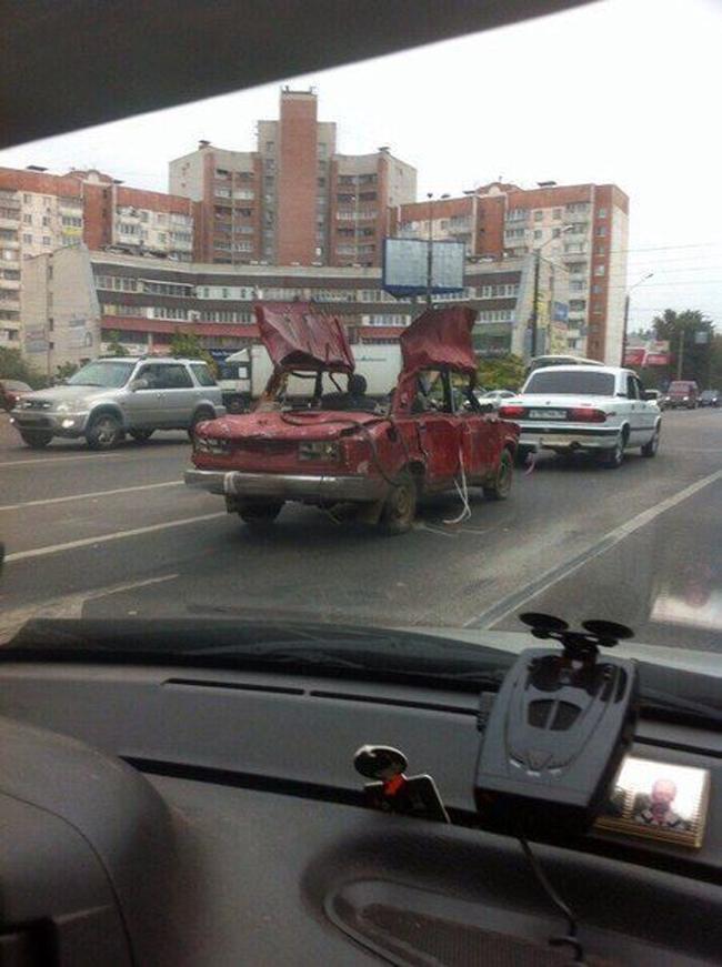 1. En rysk skrotbil