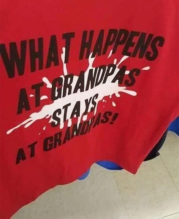 1. Vad exakt hände på Grandpas?