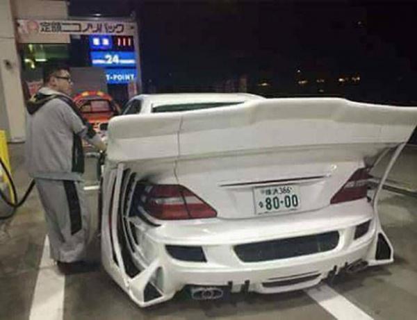 1. Den här killen har tagit bilstyling till en helt ny nivå