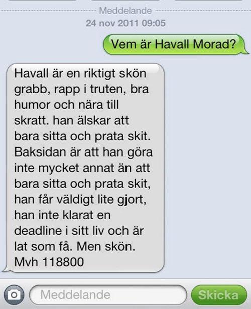 1. Vem var Havall Morad?
