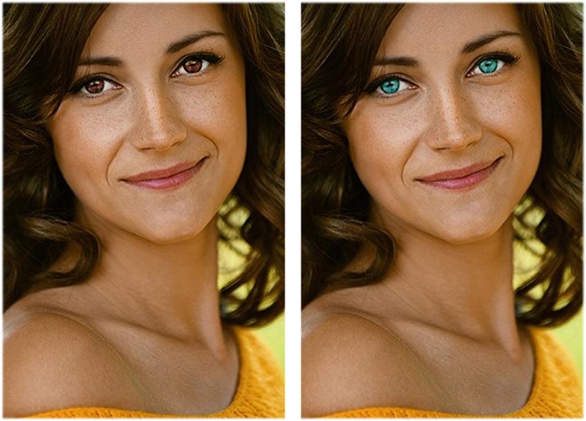 3. Vissa av oss har blåa ögon. I början hade alla människor bruna ögon. Men för omkring 6 000-10 000 år sedan började vi mutera, vilket ledde till att några av oss har blå ögon idag.