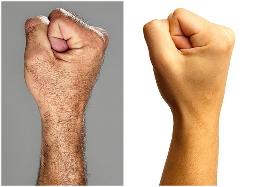 5. Vi blir mindre håriga. Vi är betydligt mindre håriga än våra förfäder. De enda ställena där det inte har blivit några förändringar är på vårt huvud och i armhålorna.