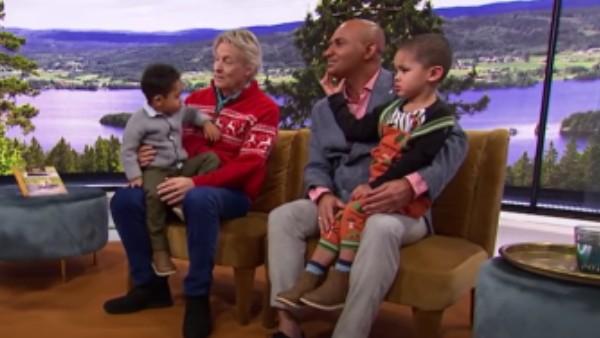 Makarna har barn ihop och förra året berättade Junior Marques Lerin att han kunde tänka sig fler barn
