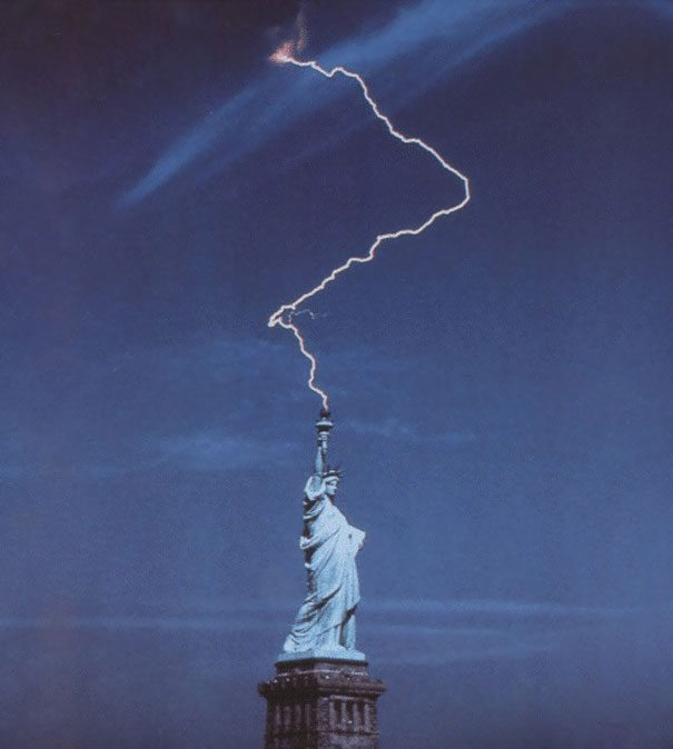 1. Frihetsgudinnan och en blixt