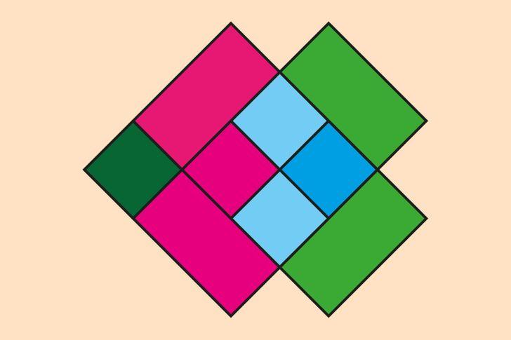 Hur många fyrkanter ser du?