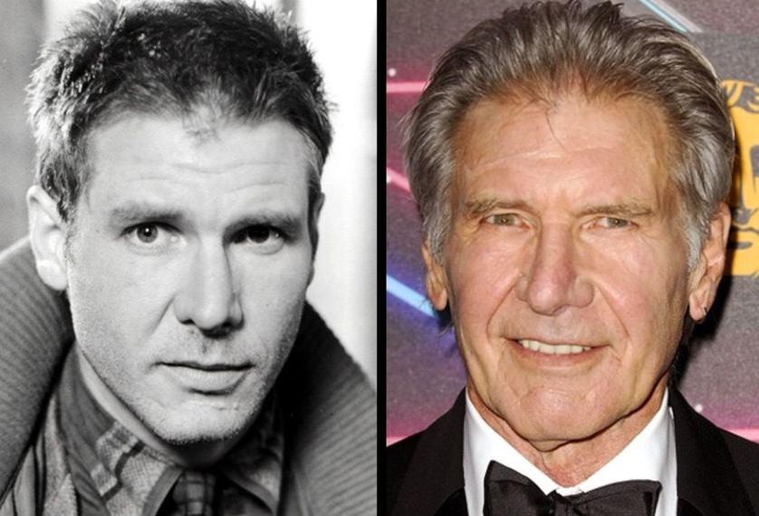 1. Kolla in Harrison Fords blick