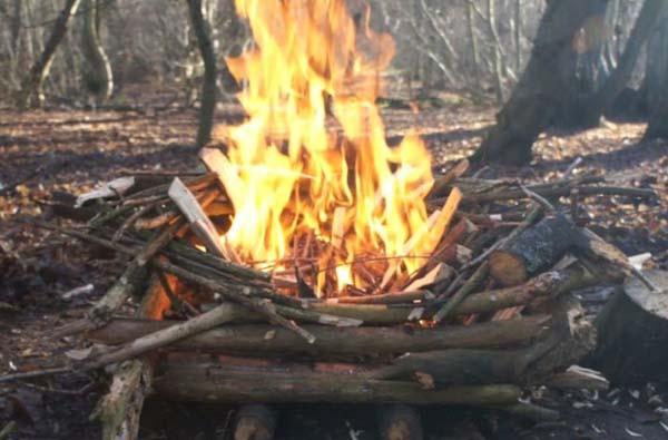 2. Norrlänningar är sjukt bra på att göra upp eld. Det finns liksom i blodet på dem.