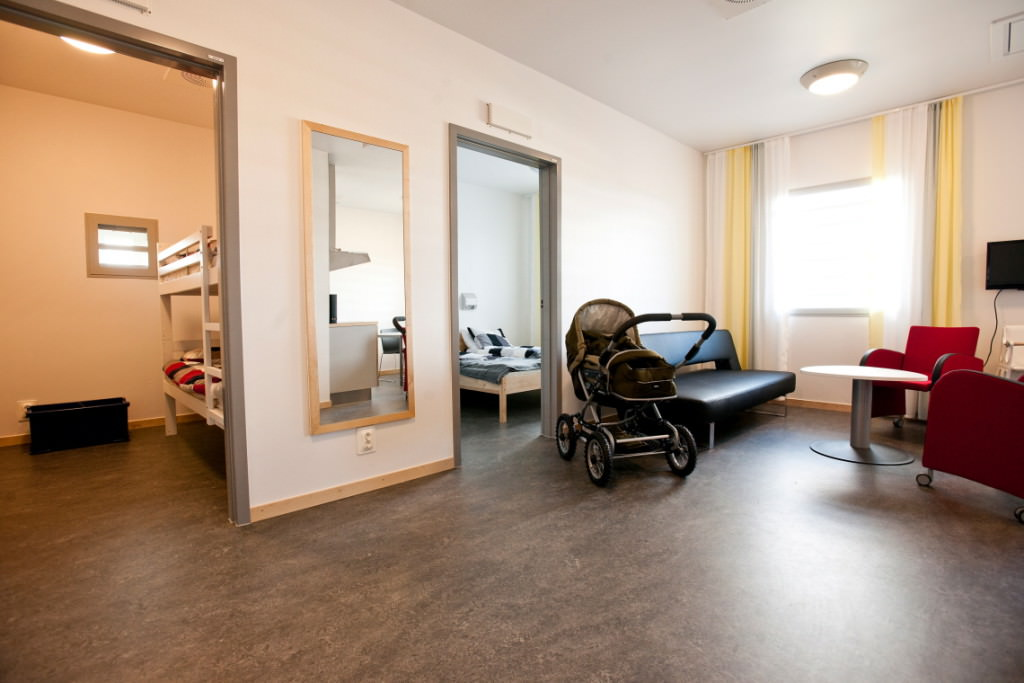 10. Besökslägenhet på anstalten i Saltvik