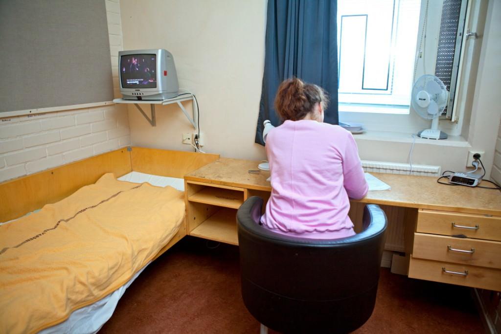 11. Här är ett bostadsrum på anstalten i Nyköping