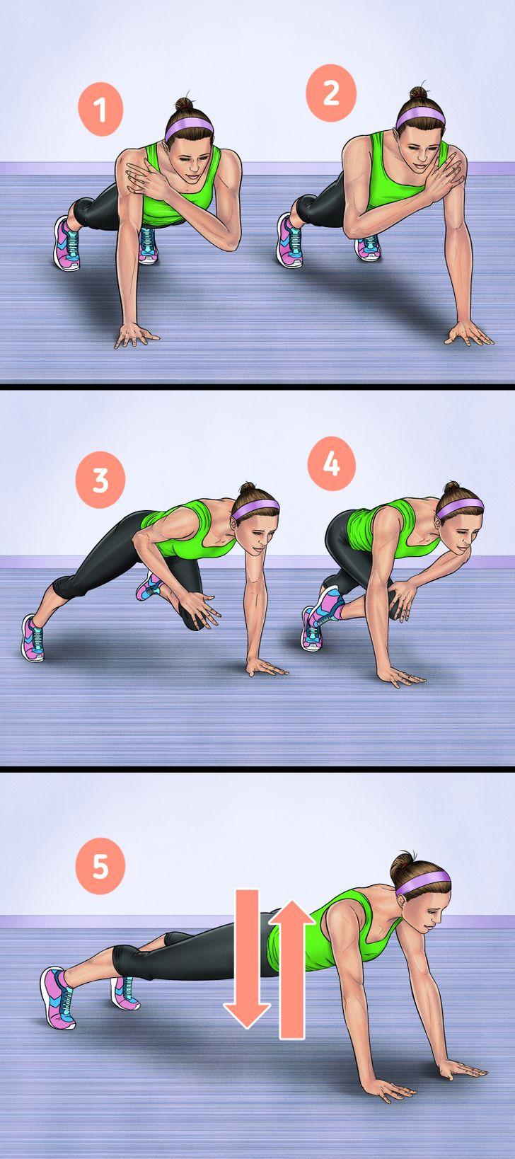 3. Korsa axlar och knän