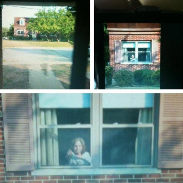 1. Min granne stirrar på mig från sitt fönster varje dag när jag kommer hem från jobbet.