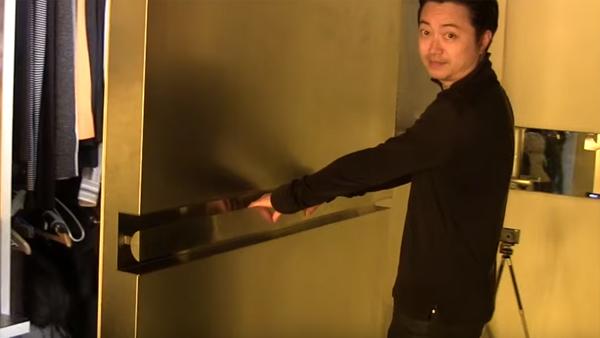 I en liten lägenhet i Hong Kong lyckades han få in 24 rum i en 32 kvm lägenhet - och vi kan knappt tro vad vi ser