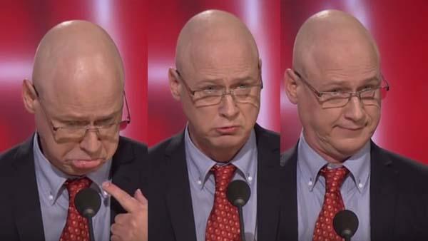 Robert Gustafsson imiterar Jonas Gardell på ett sjukt bra sätt