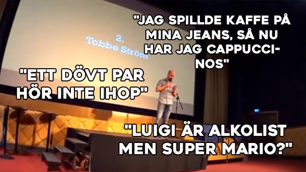Svenska mästerskapen i ordvitsar - så dåligt att det blir roligt