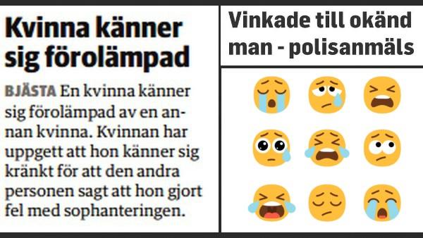 Det finns många lättkränkta människor i Sverige. Här är 9 bildbevis på det.