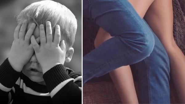 Den lilla pojken kom på sina föräldrar på bar gärning - men mammans vita lögn får oanade konsekvenser