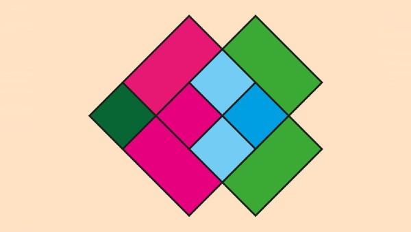 Dagens tankenöt: Hur många fyrkanter hittar du i bilden?