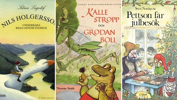 17 klassiska svenska barnböcker vi alla minns mycket väl från barndomen