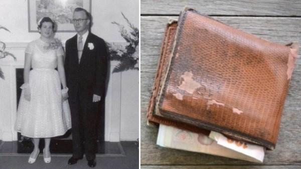 Efter 60 års äktenskap dog hans fru. Då hittar han en hemlig lapp i hennes plånbok!