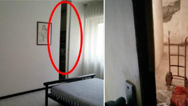 Han återvände till sitt barndomshem och upptäckte en hemlig dörr - fick rysningar i kroppen