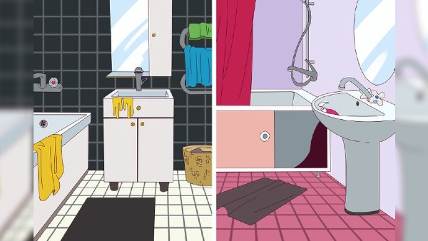 Bildgåta: På vilken av dessa badrum har en utomjording varit?